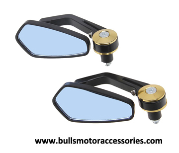 BM-M006   Die Casting Modified Motorcycle Bar End Mirror