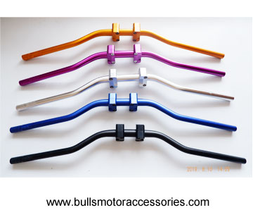 "Motorcycle Motocross 1 1/8"" 28mm Handlebars Kit Fat Bar Handle Tubes For KTM CRF YZF WRF RM KXF Pit"