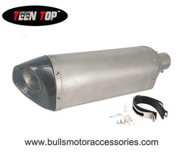 BM034CC-01  Performance modified motorbike exhaust silencer