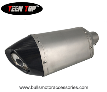 BM049CC Teen Top stainless steel motorcycle exhaust system universal