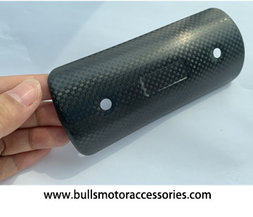 BM-H015 Type E KTM RC390 125 carbon fiber heat shield